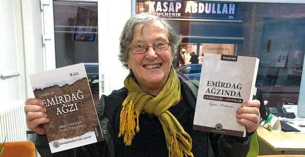 Emirdağ kitapları Belçika'da
