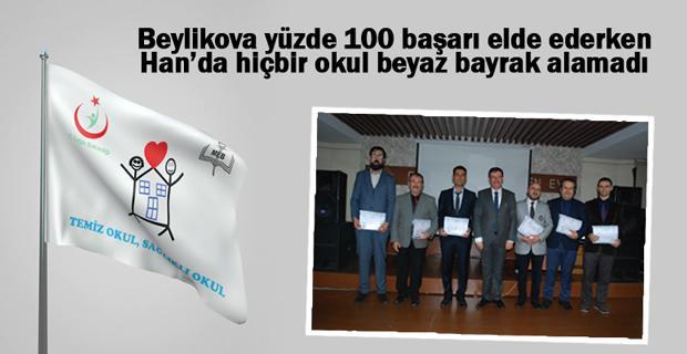 Eskişehir'de 142 okula 'beyaz bayrak'