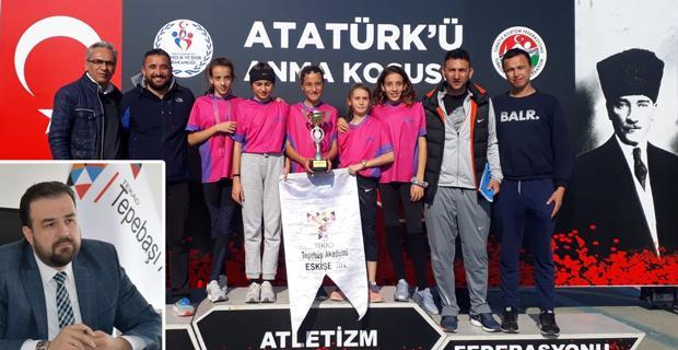 Eskişehirli sporcu Türkiye 1.'si oldu