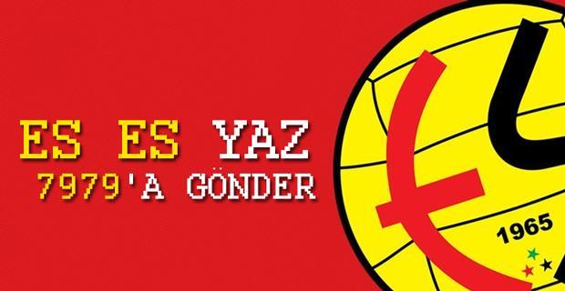 Eskişehirspor'dan SMS kampanyası