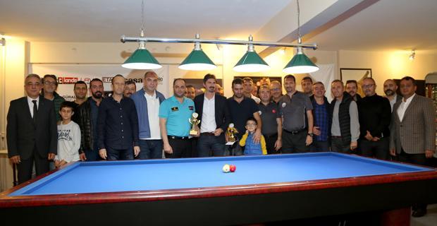 ESO 3 Bant Bilardo Kupası final karşılaşması yapıldı