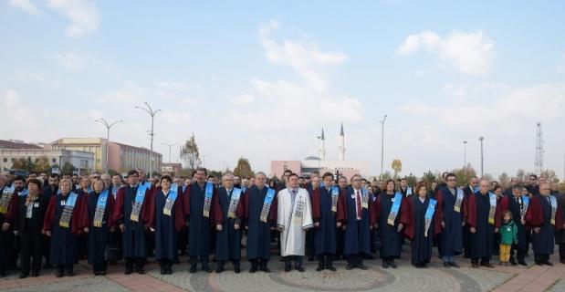 ESOGÜ, Mustafa Kemal Atatürk'ü anma töreninde bir araya geldi