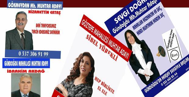 Foto Sercan'dan muhtarlar adaylarına kampanya