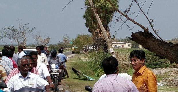 Hindistan'ı vuran Gaja kasırgası 35 can aldı