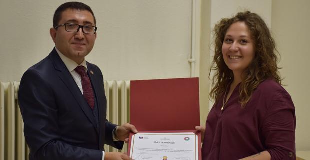 Hukuk Fakültesinde yaz stajı programı sertifika töreni
