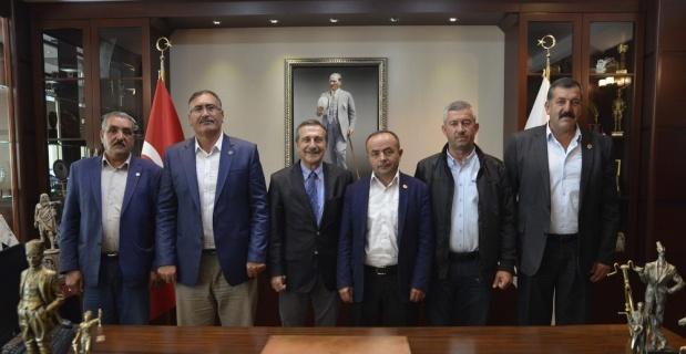 Kırsal mahalle muhtarlarından Ataç'a teşekkür