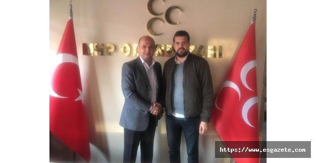 MHP Odunpazarı danışmanı Serkan Er oldu