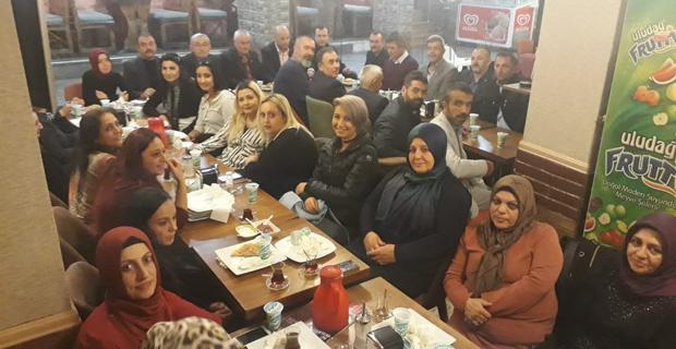 MHP Odunpazarı'nda  Tanışma Yemeği...