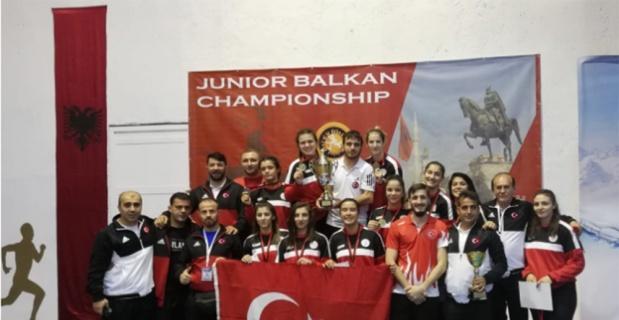 Milliler Balkan şampiyonu oldu