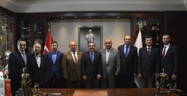 Sivrihisar Eğitim Vakfı'ndan Başkan Ataç'a ziyaret