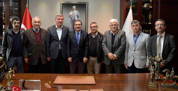 Sivrihisarlılar Derneği'nden Başkan Ataç'a ziyaret