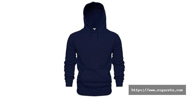 Siyah Kapşonlu Sweatshirt Modelleri