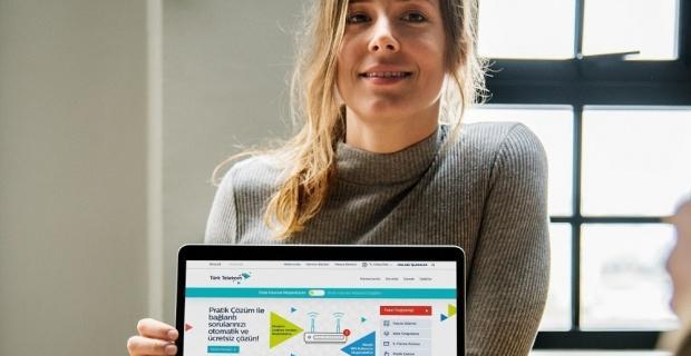 Türk Telekom'dan internet müşterilerine 'Pratik Çözüm'