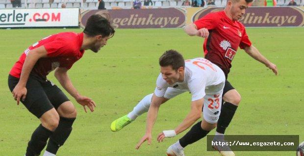 Adanaspor: 2 - Eskişehirspor: 0