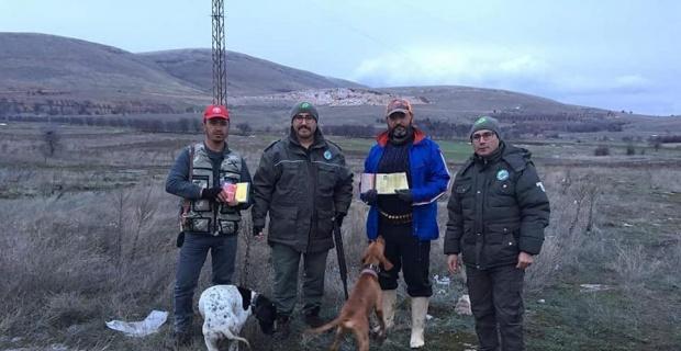 Afyonkarahisar'da kacak avcılıkla mücadele çalışmaları