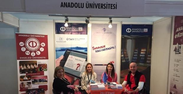 Anadolu Üniversitesi Engelsiz Yaşam Fuarında yer aldı