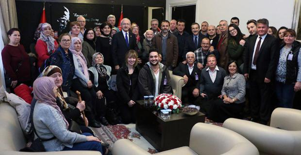 Kılıçdaroğlu ile buluştular