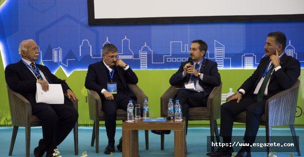 Başkan Ataç, Uluslararası Kent ve Sağlık Kongresi'ne katıldı