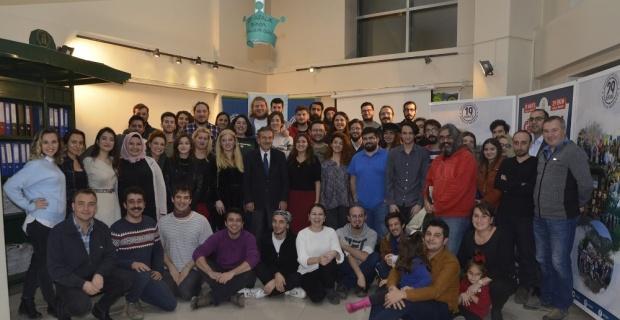 Başkan Ataç'tan 100 gönüllü gence teşekkür