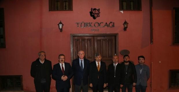 Başkan Kazım Kurt, Türk Ocağı'nı ziyaret etti