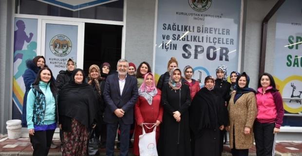 Bozkurt'a kadınlardan çifte teşekkür