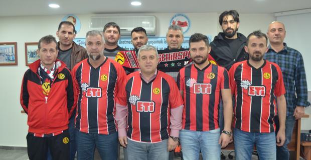 Cam işçisinden Eskişehirspor'a destek