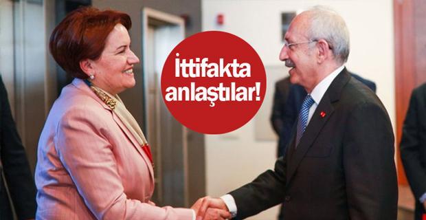 CHP ve İYİ Parti ittifakta anlaştı