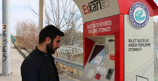 Bilet dolum makinesi çalışmıyor