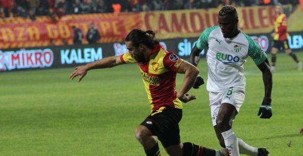 Göztepe ile Bursaspor puanları paylaştı