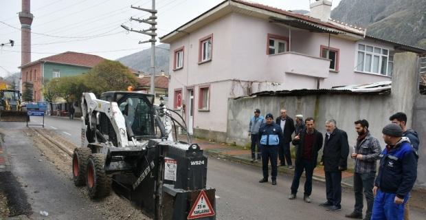 İnönü Belediyesi Martlı Suyu'nda kazıya başladı