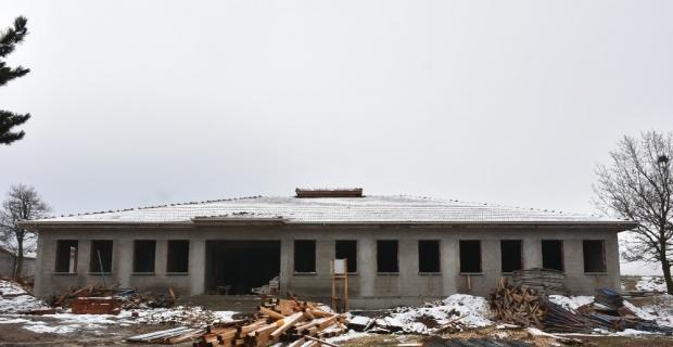 Kümbet Yeniköy İlkokul inşaatı devam ediyor