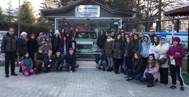 Manisalı öğrenciler Eskişehir'in ikonlarını yerinde gördü