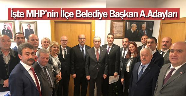 MHP listeyi Ankara'ya teslim etti