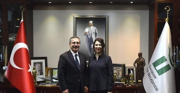 Olçar'dan Başkan Ataç'a ziyaret