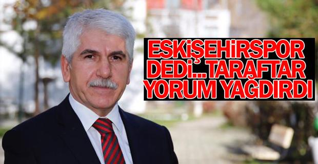 Sakallı'dan Eskişehirspor paylaşımı