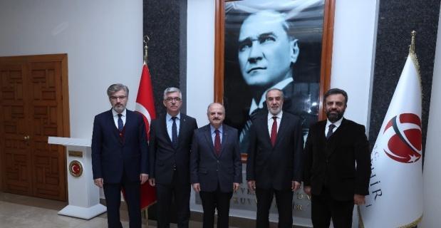 SESRIC heyeti Vali Çakacak'ı ziyaret etti