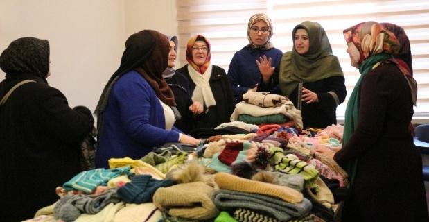 Eskişehir'den mülteci kamplarına yardım eli