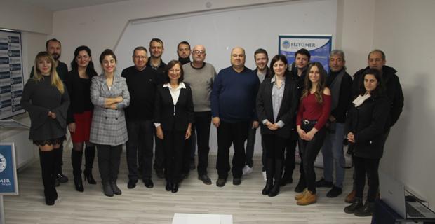 Fizyomer'den 10 Ocak Çalışan Gazeteciler Günü kutlaması