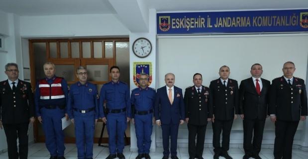İl Jandarma Komutanlığından 2018 yılı Değerlendirme Toplantısı