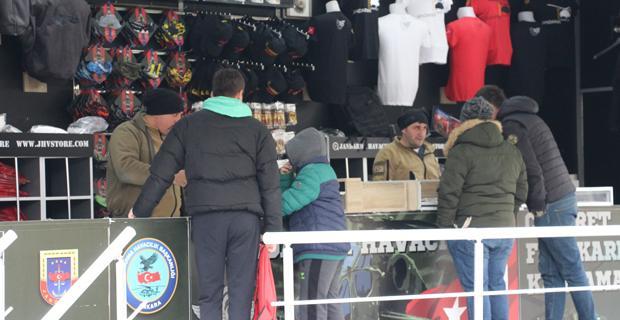 Jandarma Havacılık Tırı Eskişehir'de