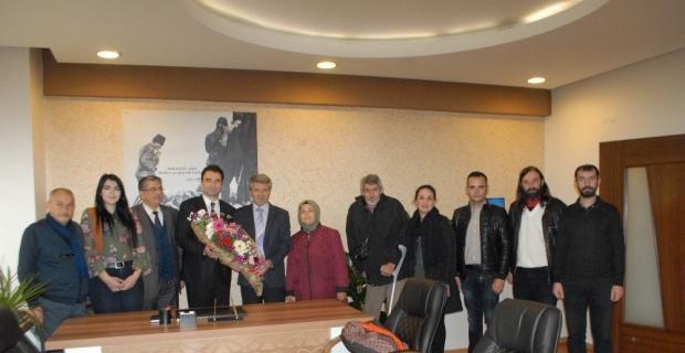 Kent Konseyi Engeliler Meclisi, Afyonkarahisar Basın Yayın Derneği'ni ziyaret etti