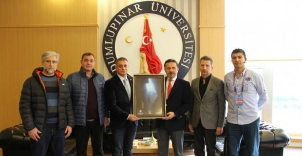 TSSF Başkanı Özen'den Rektör Gören'e ziyaret