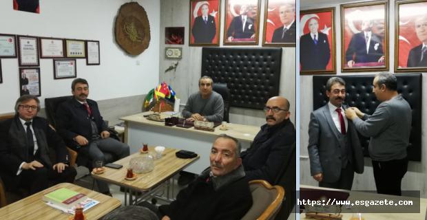 TÜRKAV'dan Ali Yörük'e destek