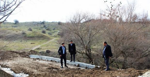 40 yıllık hasarlı köprü onarıldı
