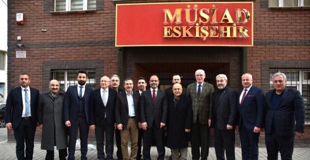 Başkan Ataç'tan MÜSİAD'a hayırlı olsun ziyareti