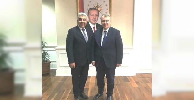 Başkan Çalışkan, talepleri Sağlık Bakan Yardımcısı Eldemir'e iletti
