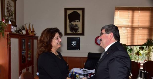 Başkan Can kurum yöneticileri ve çalışanlarıyla bir araya geldi