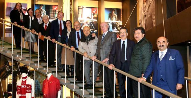 Başkanlardan Sarar işçilerine ziyaret