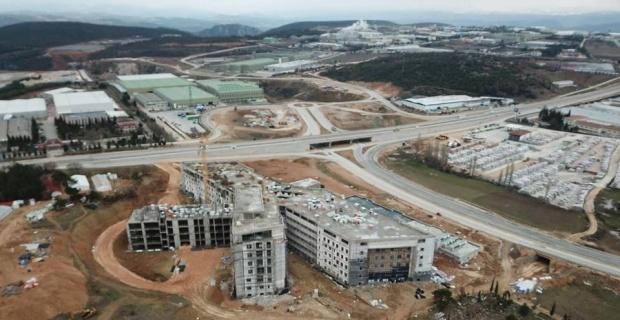 Bilecik Devlet Hastanesi'nin yüzde 70'i tamamlandı