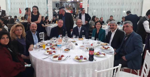 Başkanlar Avdanlılar gecesine katıldı